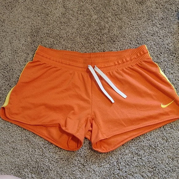 Nike Pants - Orange and yellow NIKE shorts